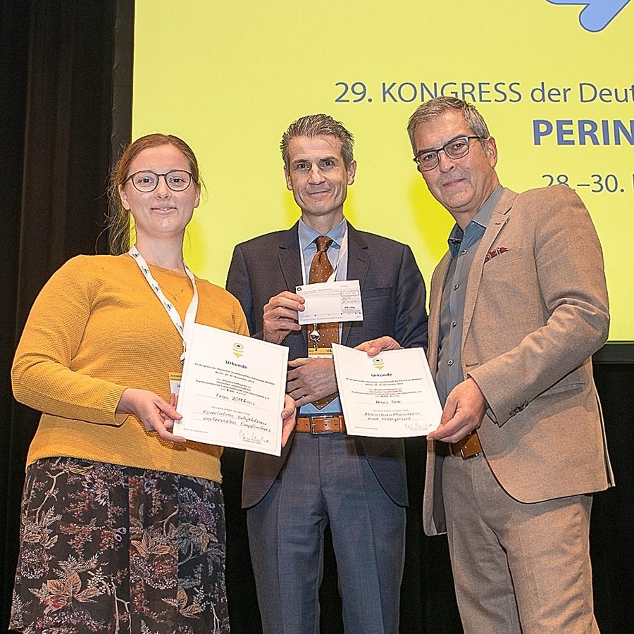 Neuer DGPFG-Forschungspreis verliehen
